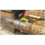 réplica metalográfica extração Suzanápolis
