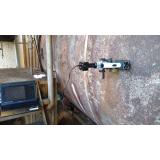 réplica metalográfica análise