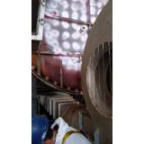 réplica metalográfica caldeiras