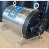 transporte de rejeitos radioativos de indústria em conta Borá